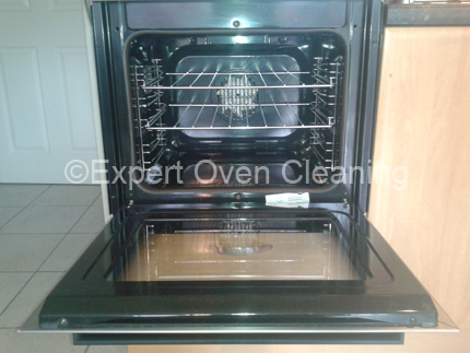 expert oven cleaning after