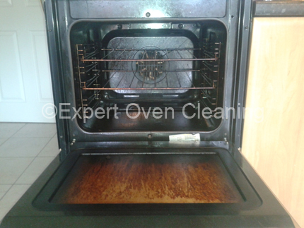 expert oven cleaning before