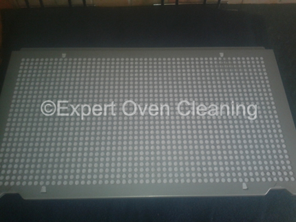extractor fan filter after cleaning