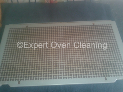 extractor fan filter before cleaning
